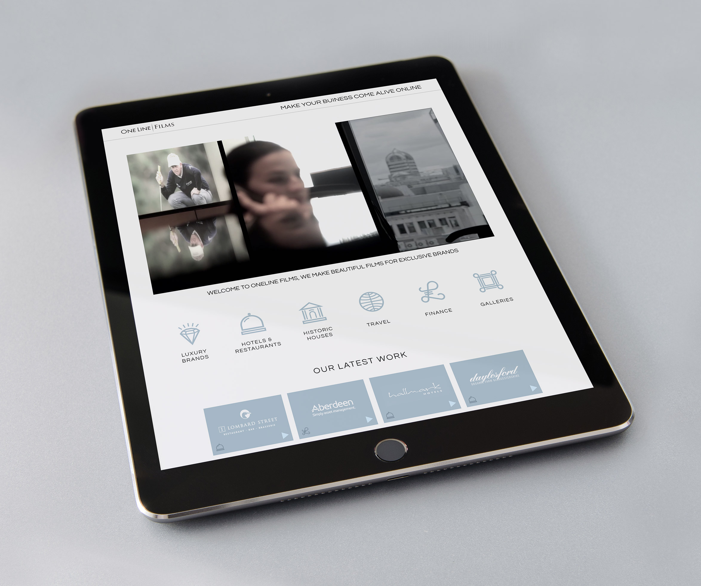 OneLine-web-iPad