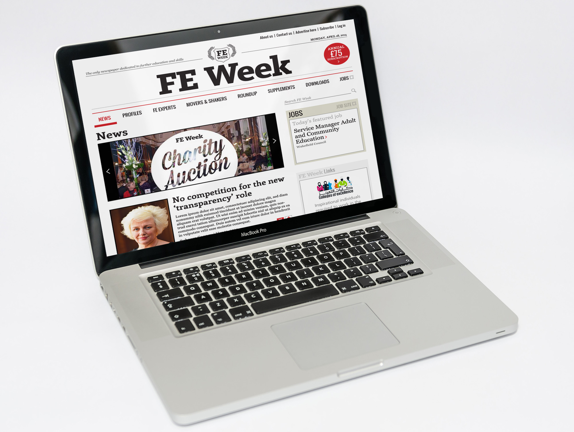 FEweek homepage