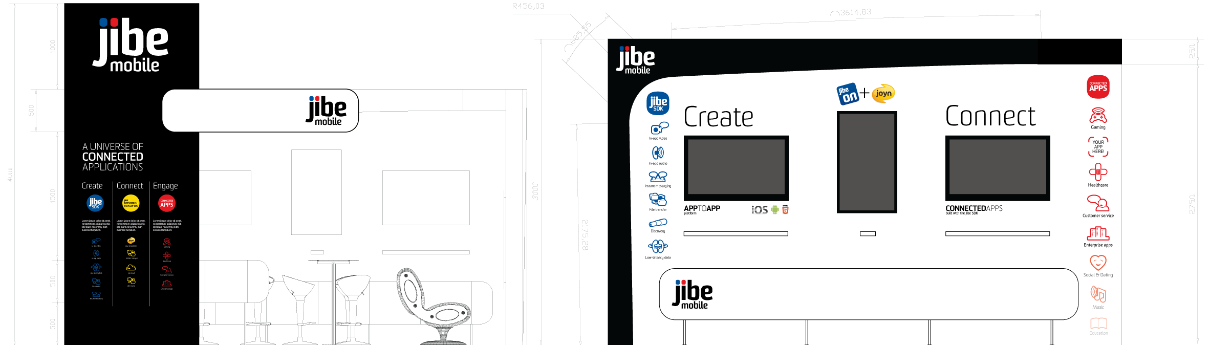 Jibe Exhibition Stand