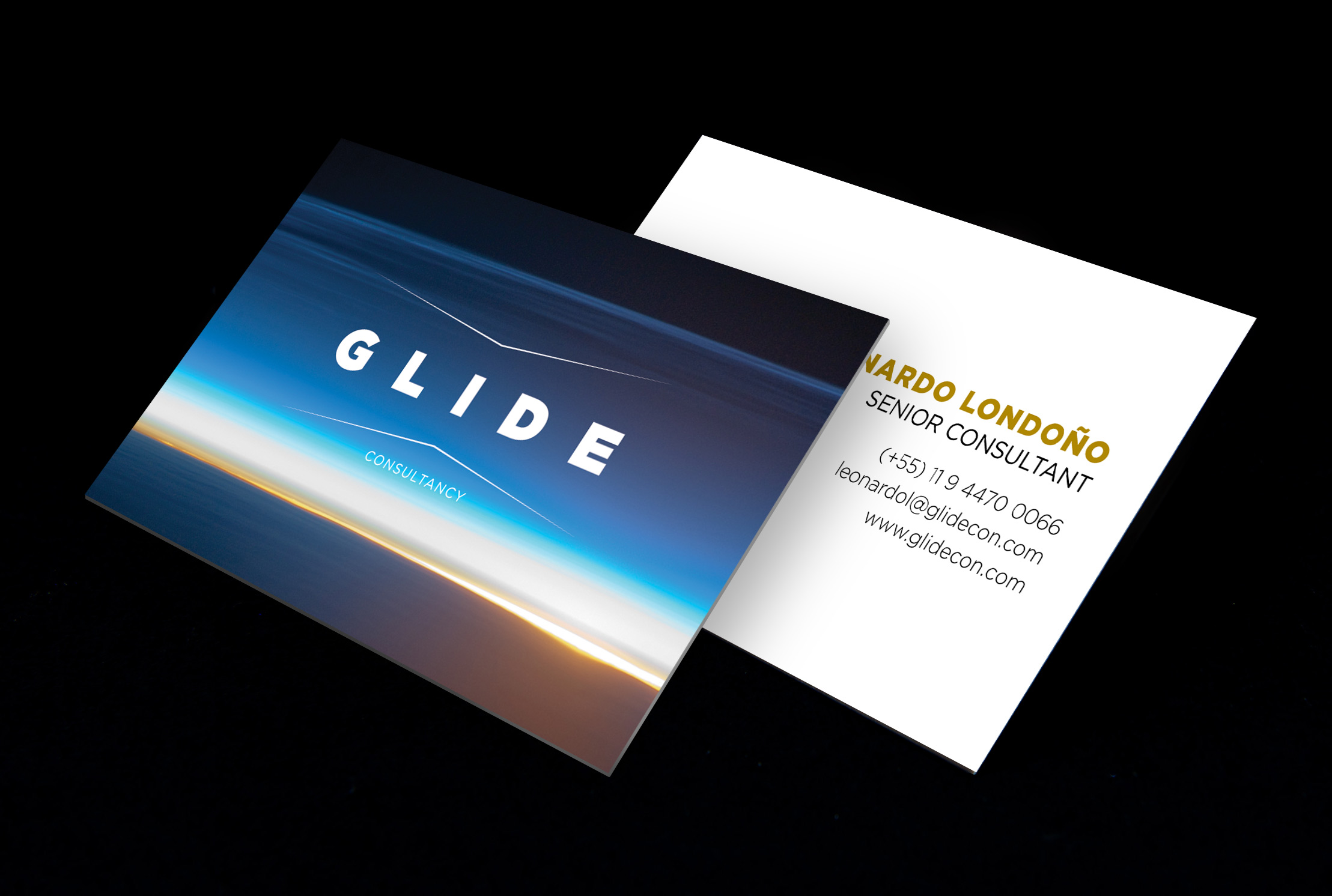 Glide Business card1