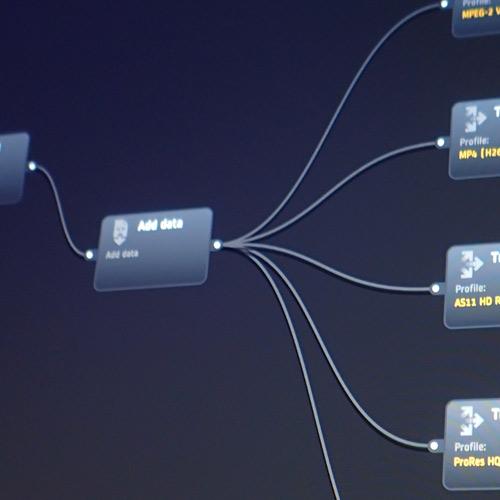 Workflow designer UI
