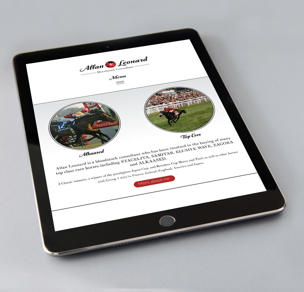 Allan Leonard website