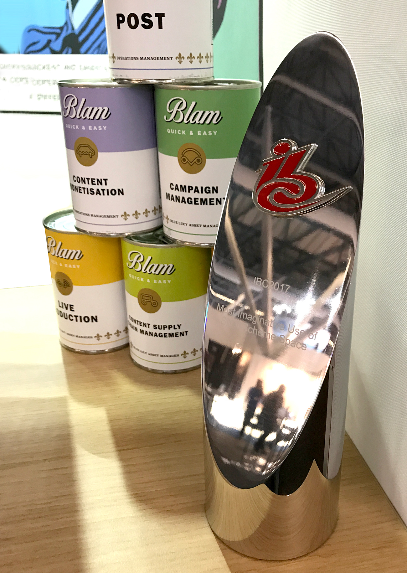 BLAM Cans with IBC Award