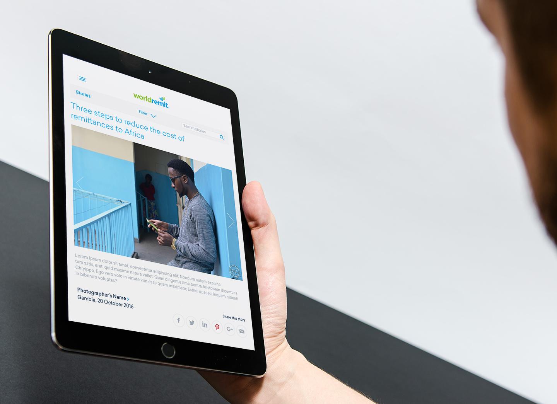 WorldRemit-story-iPad-in-hand